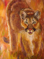 cougar wildred.jpg - 20972 Bytes